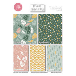 Craft Cotton Company Botanical Elements Fat Quarter Bundle - Myrtle