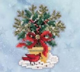 Mill Hill Evergreen Topiary Cross Stitch Kit