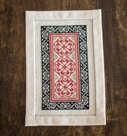 Avlea Folk Embroidery Bitkit Byzantine Rose - Downloadable PDF