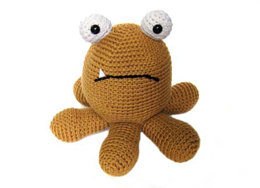 Otto The Monster Toy in Ella Rae Classic Wool