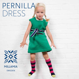Pernilla Dress in MillaMia Naturally Soft Merino