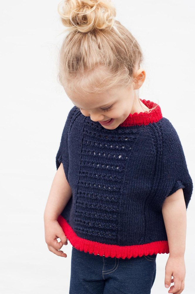 Mommy's Little Cupcake Poncho Knitting pattern by tellybeanknits   Knitting  Patterns   LoveKnitting