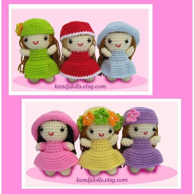 Little Girls - PDF Crochet Pattern