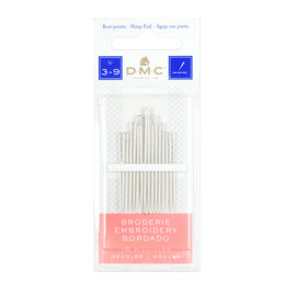 DMC Box of 16 Embroidery Needles (3-9)