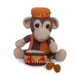 Amigurumi Arthur Monkey The Ami