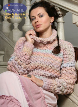 Chamonix Pullover in Adriafil Sugar - Downloadable PDF