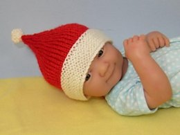 Just For Preemies - Premature Baby Santa Beanie and Booties Set
