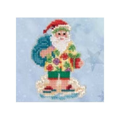 Mill Hill Santa Cruise Cross Stitch Kit