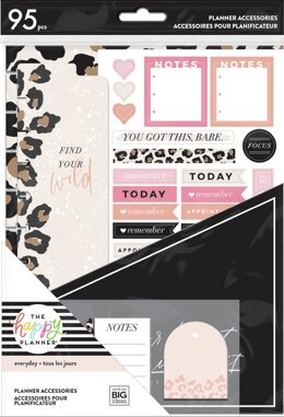 Me & My Big Ideas Happy Planner Accessory Pack - Wild Styled