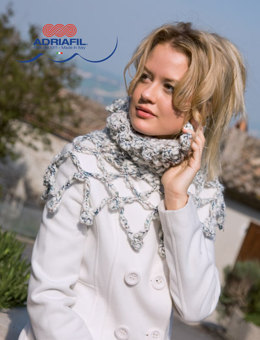 Corvara Collar in Adriafil Libero - Downloadable PDF
