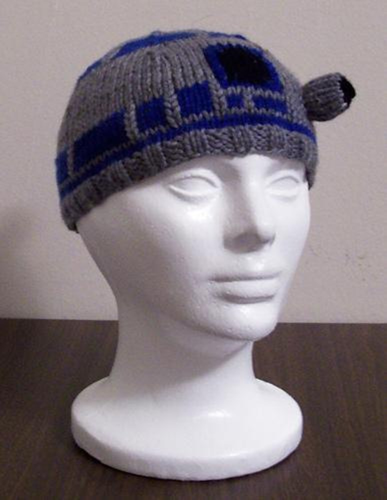 R2d2 Beanie Knitting Pattern By Carissa Browning Knitting Patterns