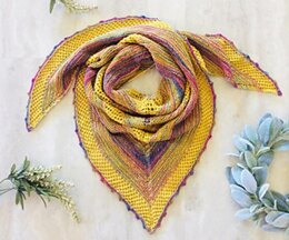 Something Happy Shawl