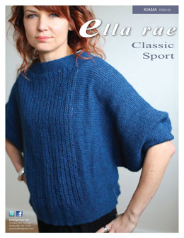 Kiama Top in Ella Rae Classic Sport - ER03-05 - Downloadable PDF