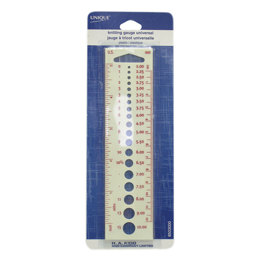 Unique Knitting Gauge Universal - Plastic