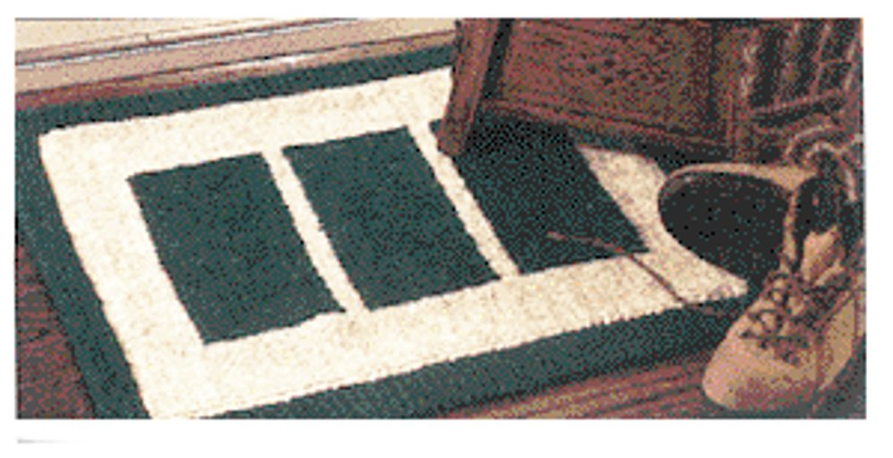 Cabin Rug in Lion Brand Wool-Ease Thick & Quick - 746 Knitting Patterns...