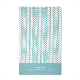 Debbie Bliss Double Rib Stitch Tea Towel