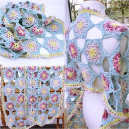 Moya Star Shawl