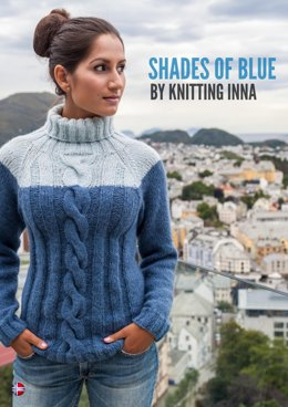Shades of Blue by Knitting Inna