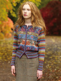 Maple Cardigan in Rowan Felted Tweed