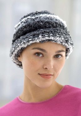 Knit Chemo Cloche in Red Heart Light & Lofty - WR1715