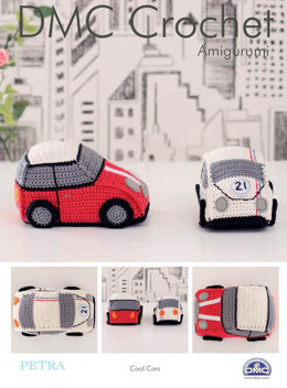 Cool Cars in DMC Petra Crochet Cotton Perle No. 3 - 15325L/2