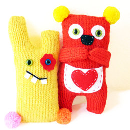 Cheeky Monster Knitting Kit