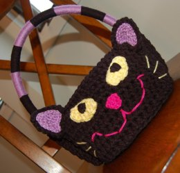 """Meow"" Kitty Cat Easter Basket"