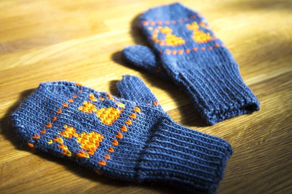 Kitten Mittens Knitting Pattern By Alice Neal