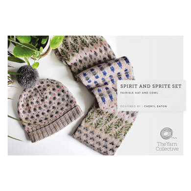 Spirit and Sprite Set by Cheryl Eaton in The Yarn Collective - Downloadable PDF