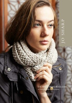 Two Strand Moss Cowl