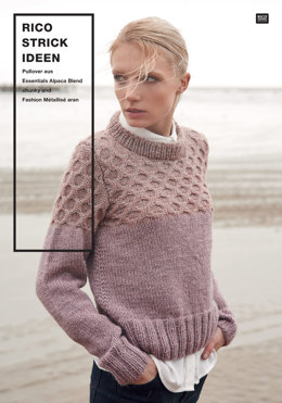 Pullover von Rico in Essentials Alpaca Blend Chunky and Fashion Metallise Aran - 96300.2074 - Downloadable PDF