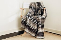 Houndstooth Cabin Throw