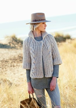 Cardigans in Rico Creative Twist Super Chunky - 344 - Downloadable PDF