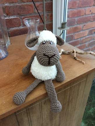 Cuddly Sheep crochet project by Kerrie Y LoveCrochet