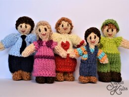 First Doll Family Knitting Pattern Snoo's Knits