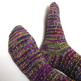 Slippery Socks in Madelinetosh Tosh Sock
