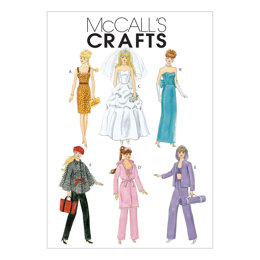 McCall's Fashion Clothes For 11« Doll M6258 - Paper Pattern Size One Size Only