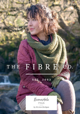 Tyan Shawl in The Fibre Co. Lore - Downloadable PDF