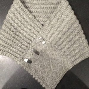 Knitting Pattern Quilted Lattice Ascot : Quilted Lattice Ascot Knitting pattern by Pam Powers ...