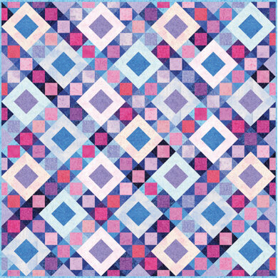 Michael Miller Fabrics Fairy Frost Twilight Sky Quilt - Downloadable PDF