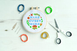 West DesignSimply Make Home Sweet Home Cross StitchKit