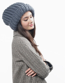 Portobello Beanie in Wool and the Gang Crazy Sexy Wool - Downloadable PDF