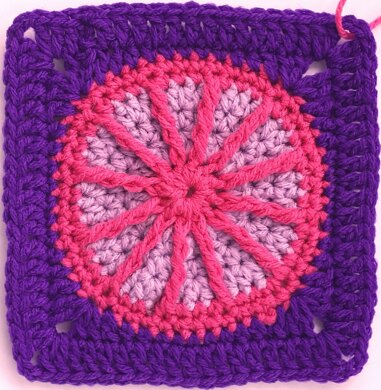 Mary McKee Afghan Square