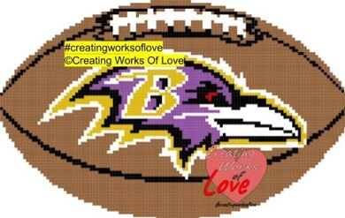 Ravens Football Stitch Graph
