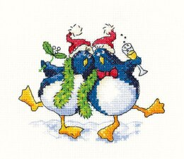 Heritage Cool Yule Cross Stitch Kit