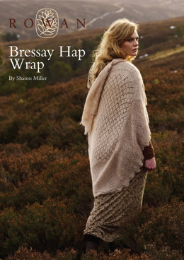 Brassay Wrap in Rowan Fine Lace
