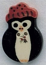 Mill Hill Button 86146 - Penguin