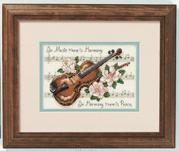 Dimensions Music Is Harmony Cross Stitch Kit - Multi
