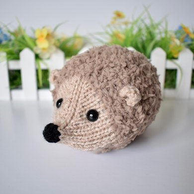 Snuggly Hedgehog Knitting Pattern By Amanda Berry