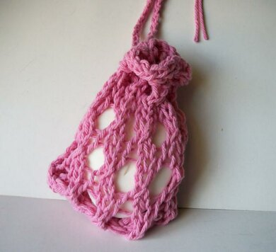 Knitted Mesh Soap Saver Knitting pattern by One Stitch ...